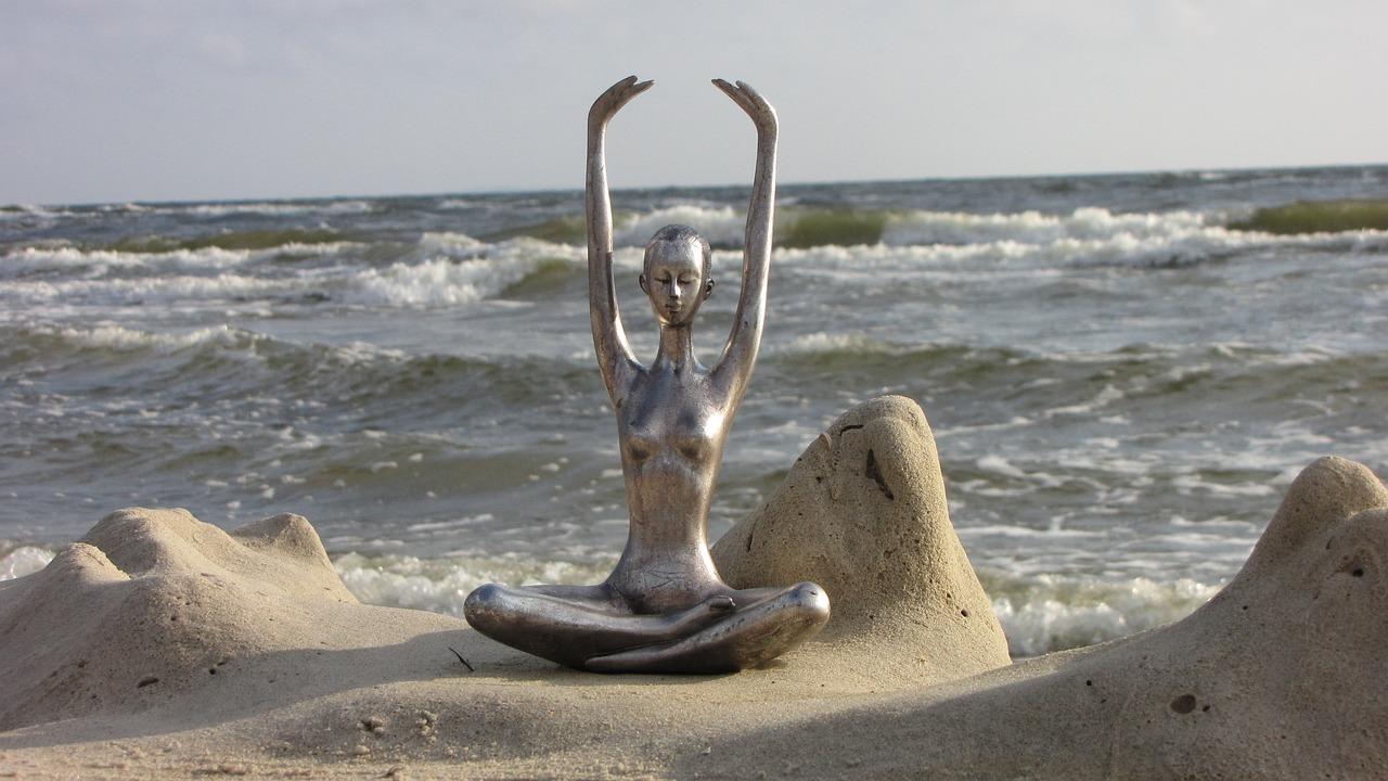 Yoga an der Ostseee